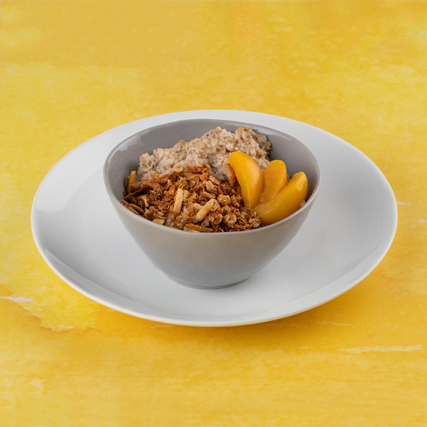 Peach Power Oats