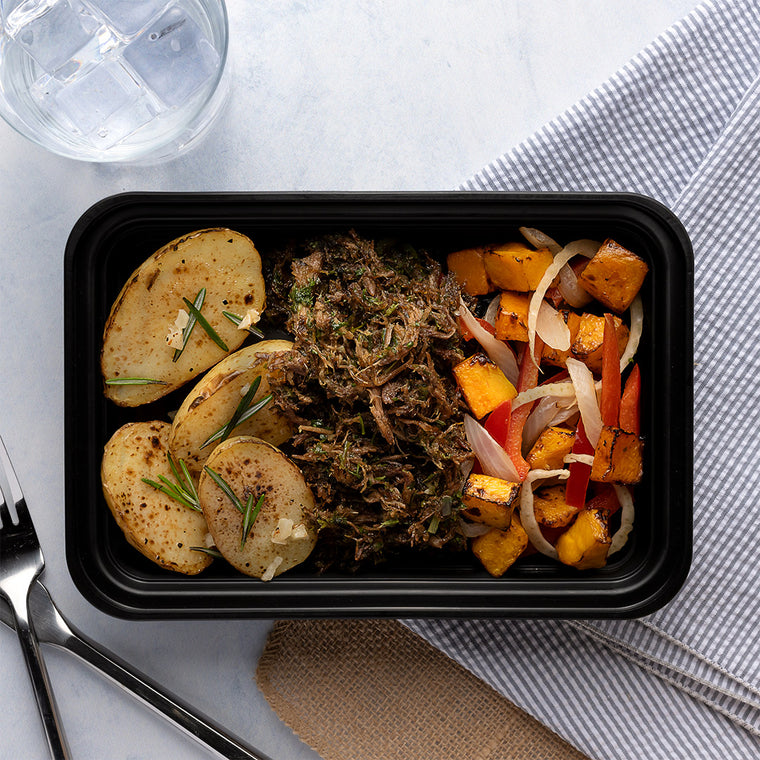 Italian Shredded Beef & Roasted Potatoes