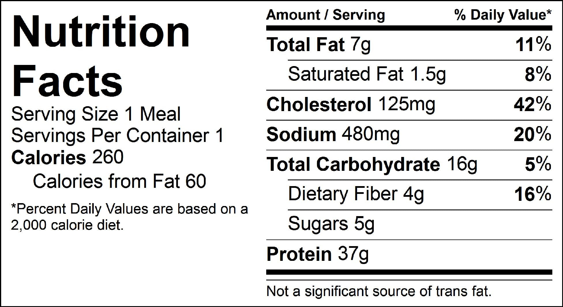 turkey bolognese nutrition facts