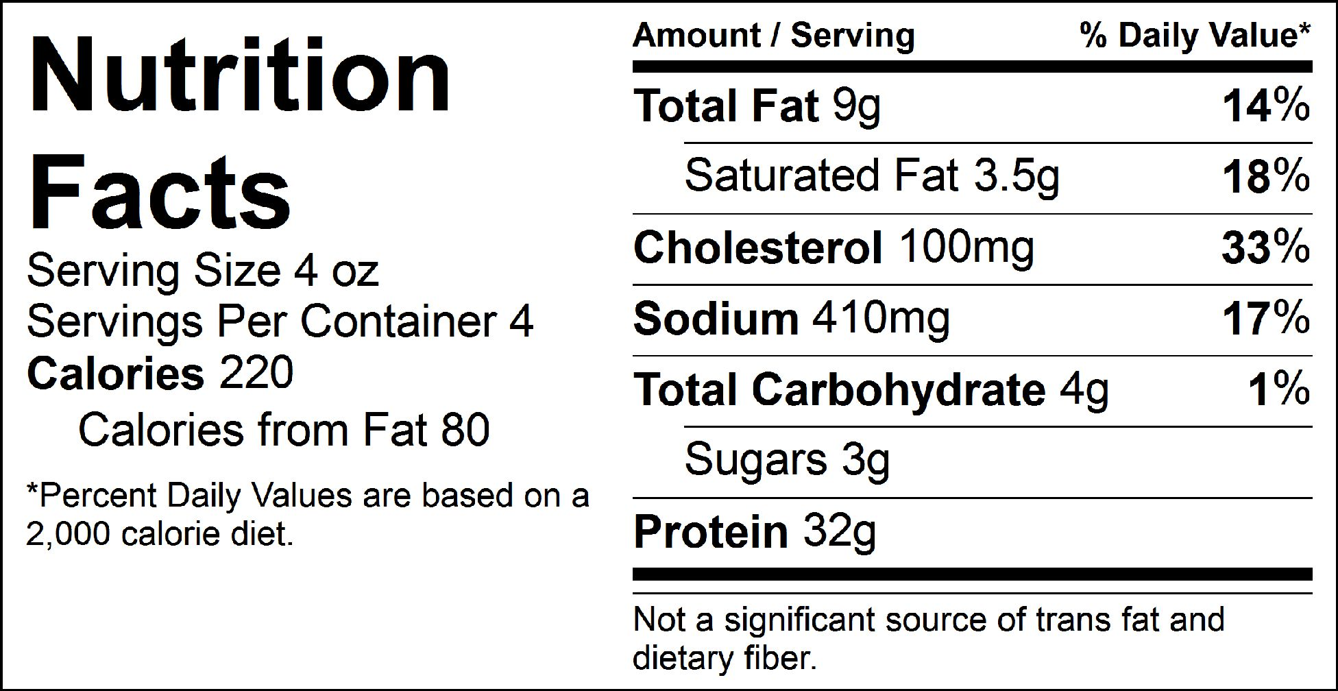 pure protein asian steak tips nutrition facts