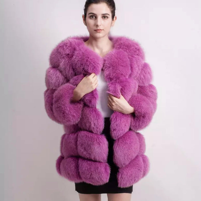 Laurina 70cm Fur Coat