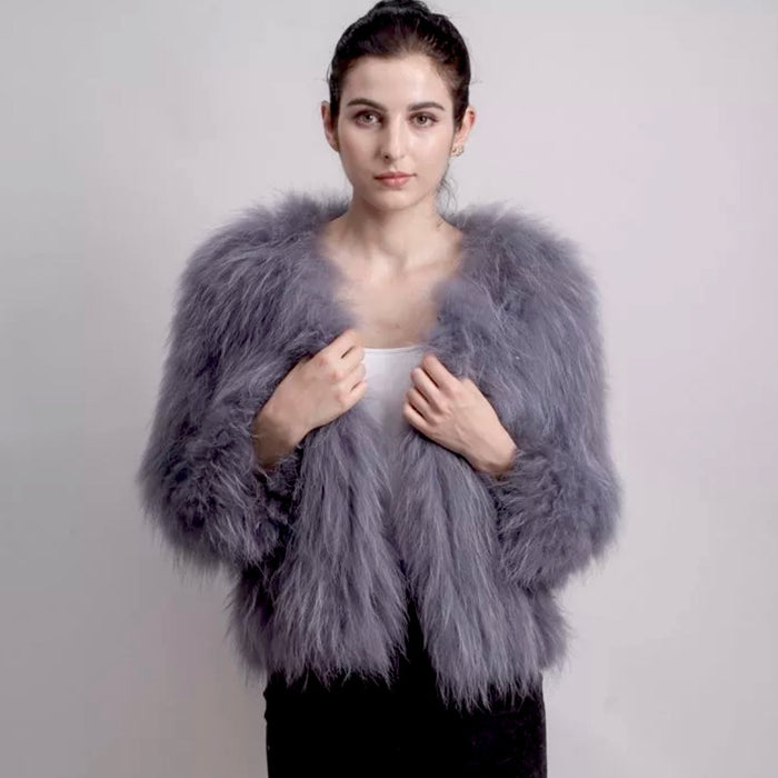 Sophia 50cm Fur Coat - 7 colours