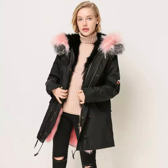 Women's Liza Fur Parka - 11 colours