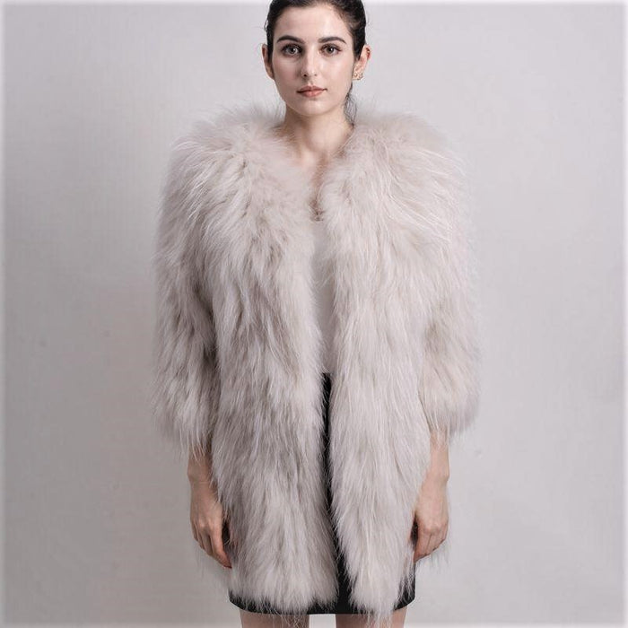 Sophia 70cm Fur Coat - 7 colours
