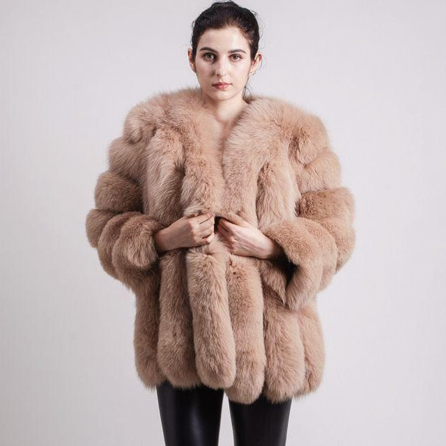 Women's Monroe 70cm Fur Coat- 7 colours