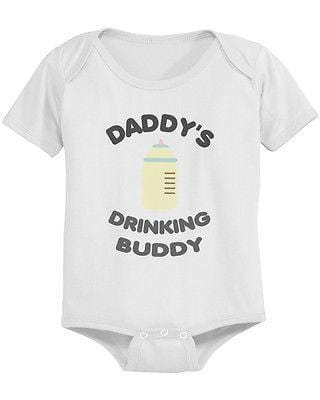 Daddy's Drinking Buddy Cute Baby | Bodysuit