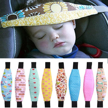 Baby Safety Seat Head Support Band