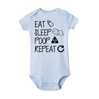 Eat, Sleep, Poop, Repeat | Bodysuit