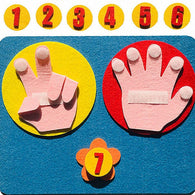 Montessori Finger Counting & Numbers Activity