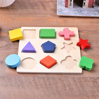Montessori Shape Puzzle - Wooden
