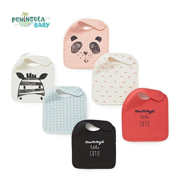 Peninsula Baby Cotton Bib Set (3 Pieces)