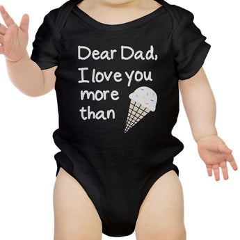 Dear Dad Icecream | Bodysuit