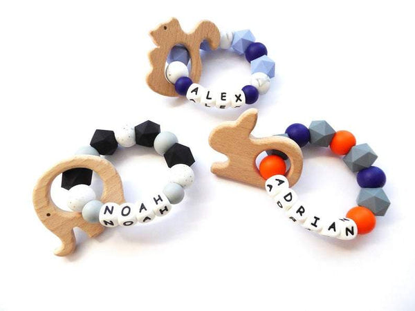 Personalized Teether Ring
