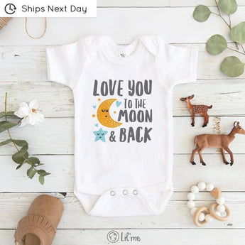 Love You To The Moon And Back | Bodysuit