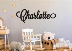 "Wooden Baby Name Sign (12"" to 55"")"