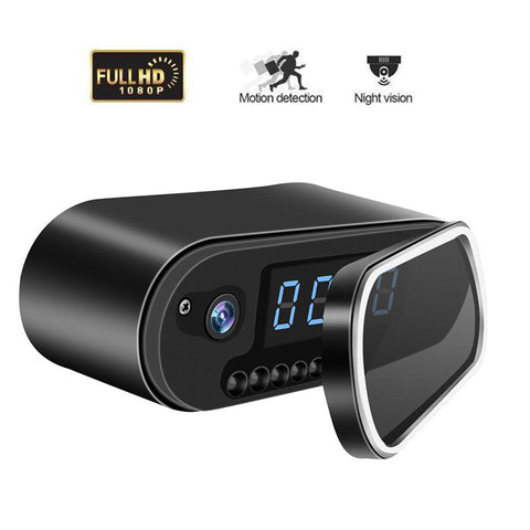 Hidden HD Camera Alarm Clock with WiFi