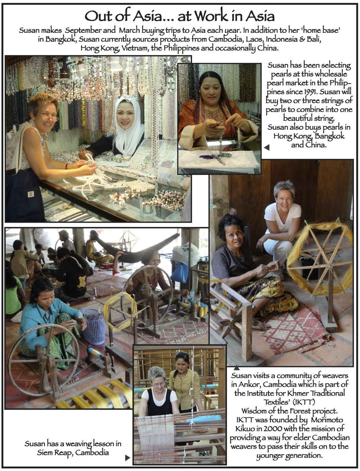 Out-Of-Asia learning about our Artisans and their craft