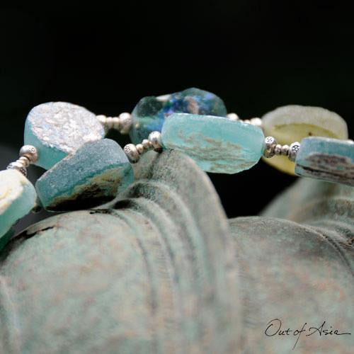 Ancient Roman Glass Necklace Wearable History! - OutOfAsia