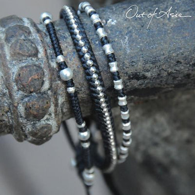 Another Out of Asia Great Gift! Sterling Silver Adjustable Bracelets - OutOfAsia
