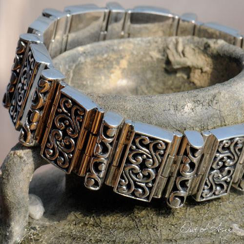 Handcrafted Bali Sterling Silver Bracelet - OutOfAsia
