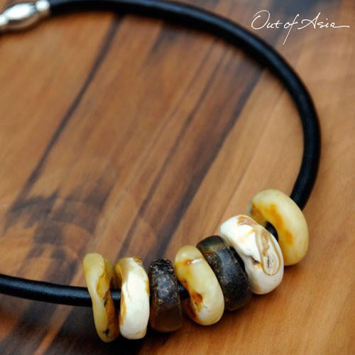 Raw Massive Amber Necklace - OutOfAsia