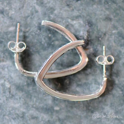 Sterling Silver Handcrafted Bali Earrings - OutOfAsia