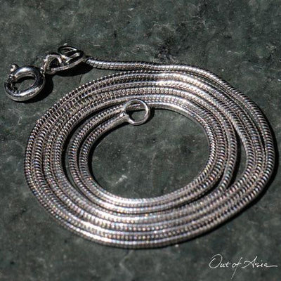 Sterling Snake Chain: 16 inches - OutOfAsia