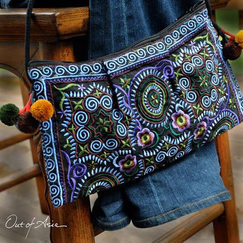Thai Embroidered Boho Bag - OutOfAsia