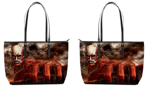 Attack on Titan Leather Tote Bag (Large)