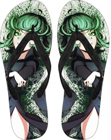One Punch Man (Tatsumaki) Flip Flops