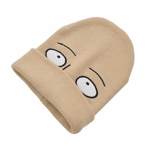 One Punch Man (Saitama) Embroidered Knitted Cap