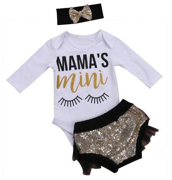 Gold Mama's Mini 3 pc Set • PREORDER