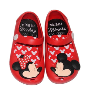 MM Remakes - Red Mickey & Minnie Jelly Shoes • PREORDER CLOSES SATURDAY, JAN. 27