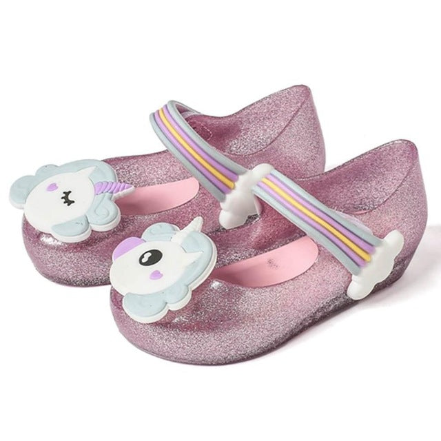 MM Remakes - Pink Glitter Unicorn Jelly Shoes • PREORDER CLOSES SATURDAY, JAN. 27