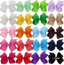 "5.5"" Hair Bows - Bulk Set • 20 Colors"
