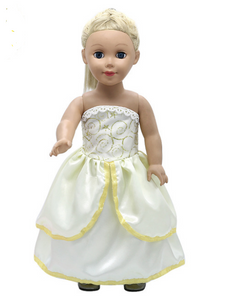 "18"" Doll - Belle Ballgown Dress • PREORDER"