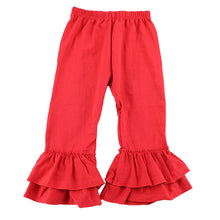 Double Ruffle Pants • 4 COLORS • Sizes 6/7-11/12 • PREORDER