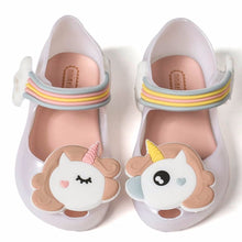 MM Remakes - White Unicorn Jelly Shoes • PREORDER CLOSES SATURDAY, JAN. 27