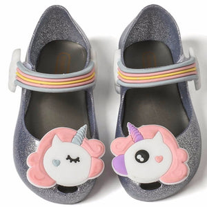 MM Remakes - Black Unicorn Jelly Shoes • PREORDER CLOSES SATURDAY, JAN. 27