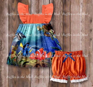 Nemo Shorts Set • PREORDER CLOSES MONDAY, FEB. 18