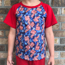 12/18m-4T • Patriotic Flags Raglan