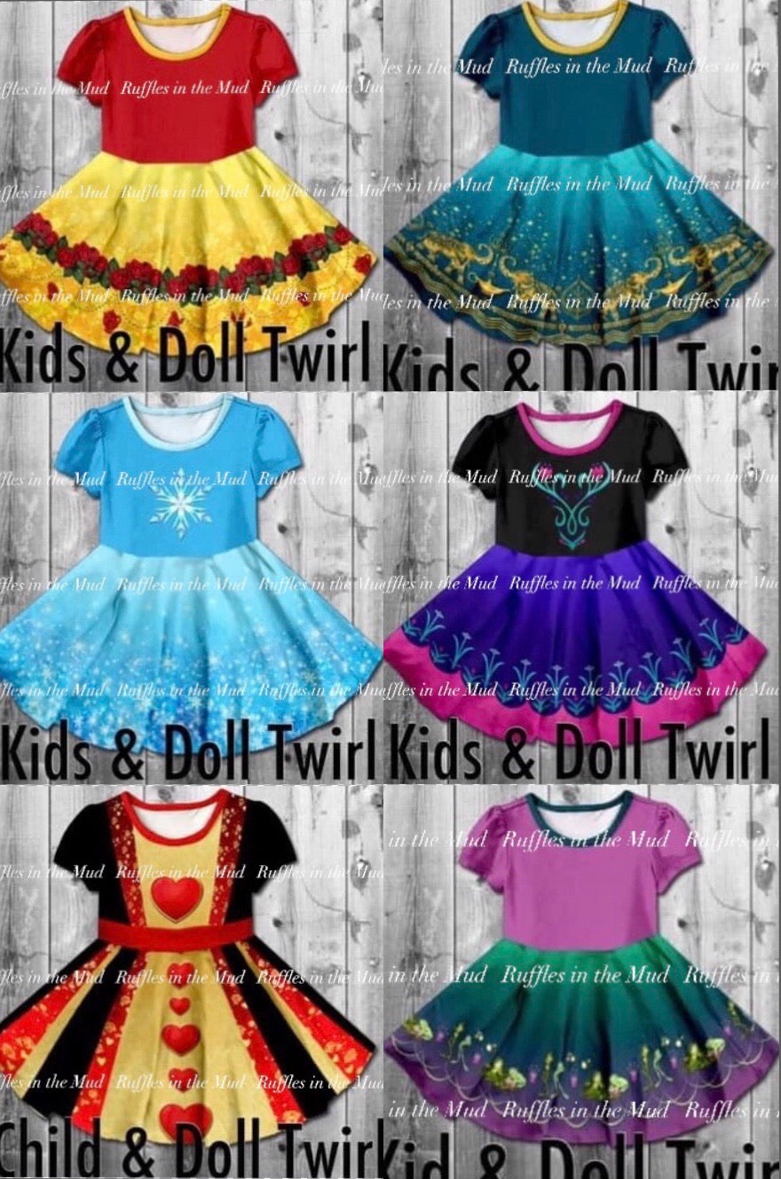 Disney Inspired Dresses - Part 2 •  PREORDER CLOSES SUNDAY, MAY 31
