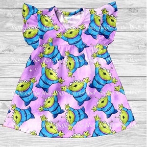 Toy Story Aliens Pearl Dress • PREORDER CLOSES SATURDAY, NOV. 9