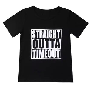12/18m-5T • Straight Outta Timeout Tee