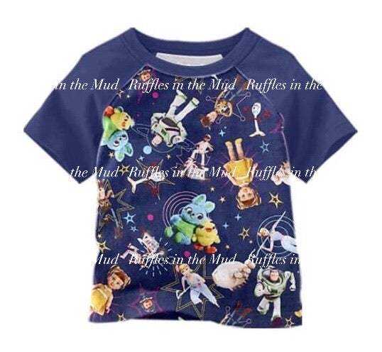 Toy Story 4 Raglan • PREORDER CLOSES SATURDAY, MAY 9