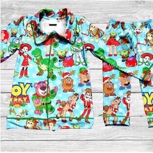 Toy Story 4 Christmas Pajama Set • PREORDER CLOSES SATURDAY, SEPT. 14
