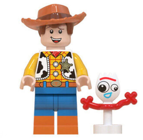 Woody & Forky • Lego Block Character