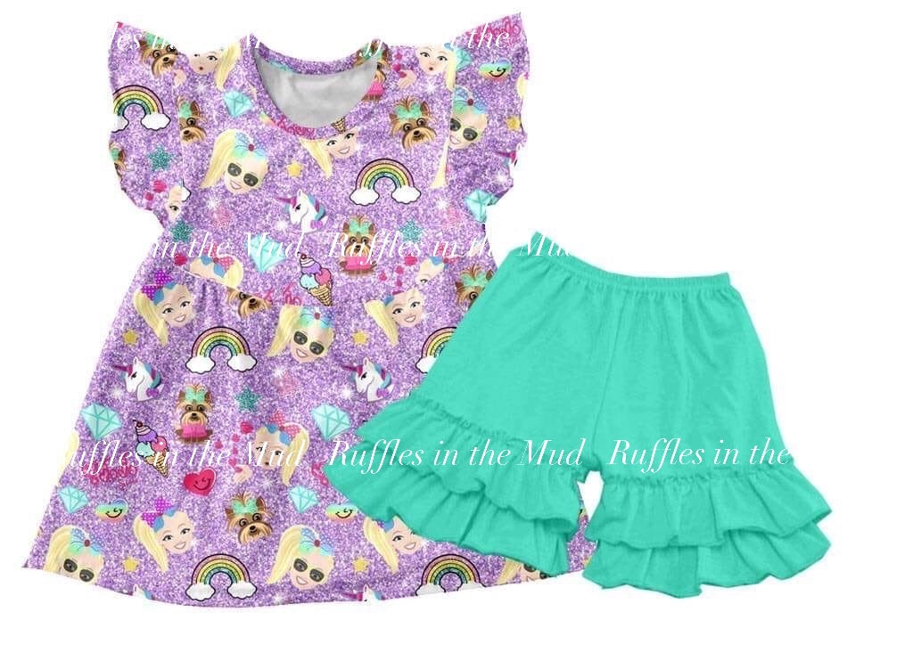 JoJo's Favorites Shorts Set • PREORDER CLOSES WEDNESDAY, JAN. 8