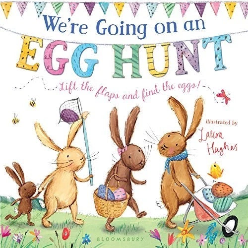 We're Going on an Egg Hunt • Board Book