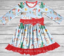 Christmas Sloth Bow Dress • PREORDER CLOSES MONDAY, SEPT. 2